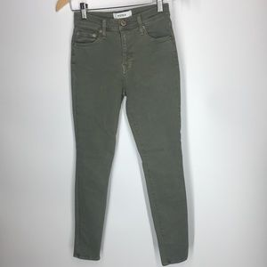 Pistola Denim Womens Jeans Aline High Rise Skinny